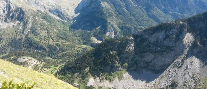 Vistas cercanas al apartamento en alquiler en el pirineo aragonés